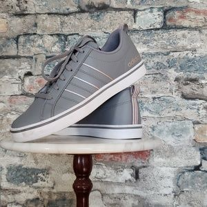 Adidas VS PACE Gray & Pink Sneakers Size 8